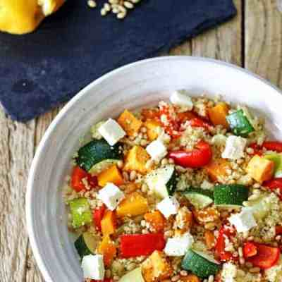 Roast Vege Couscous Salad