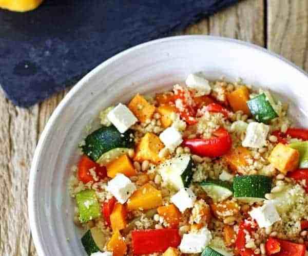 Roast Vege Couscous Salad