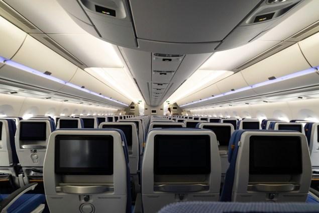 Economy Class der neuen A350-900.