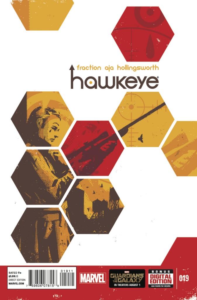 Hawkeye #19 cover art