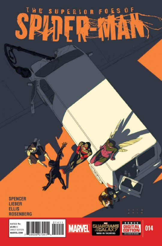Superior Foes of Spider-Man #14 cover art