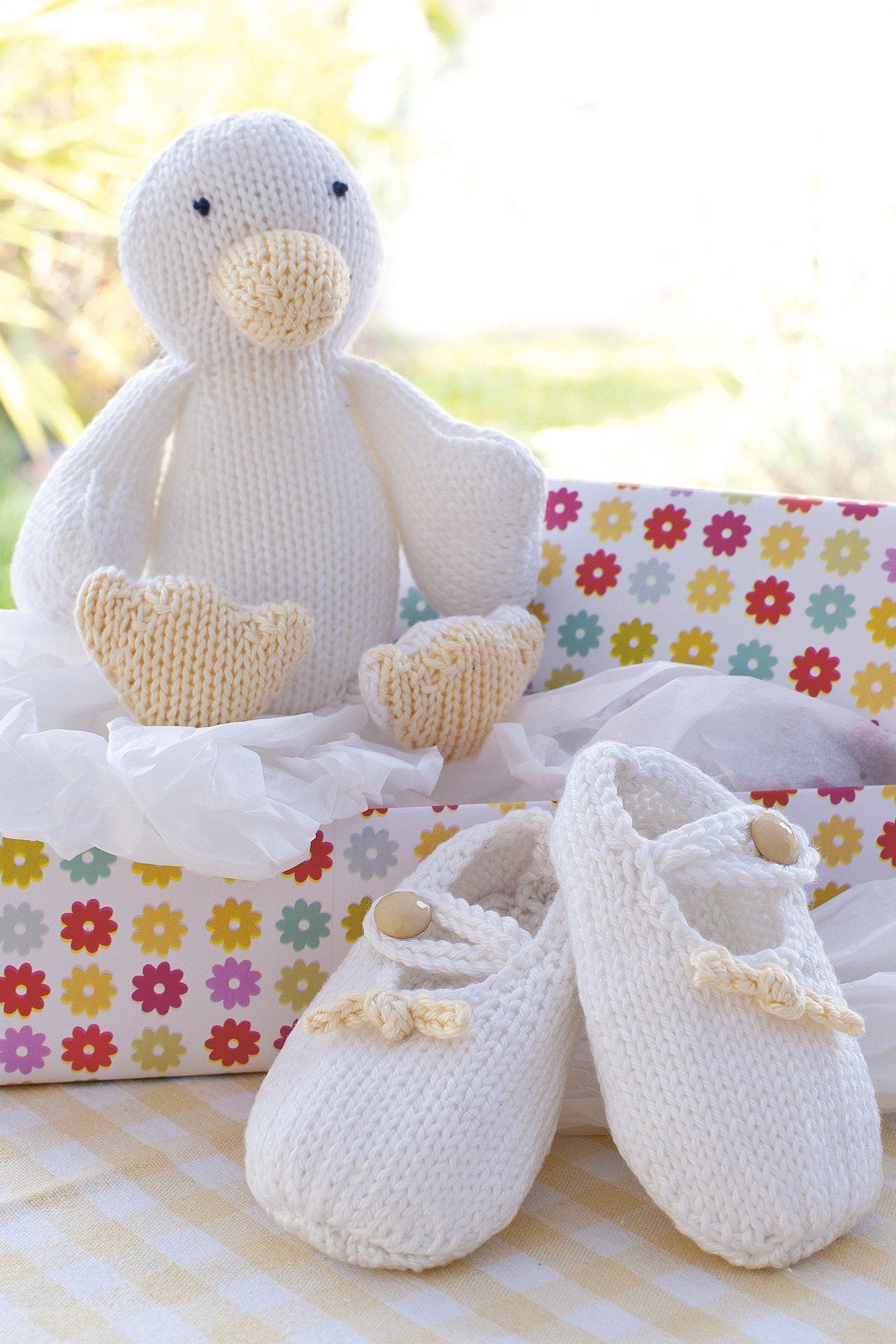 Baby Booties And Duck Knitting Patterns