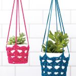 Hanging Plant Pot Crochet Pattern