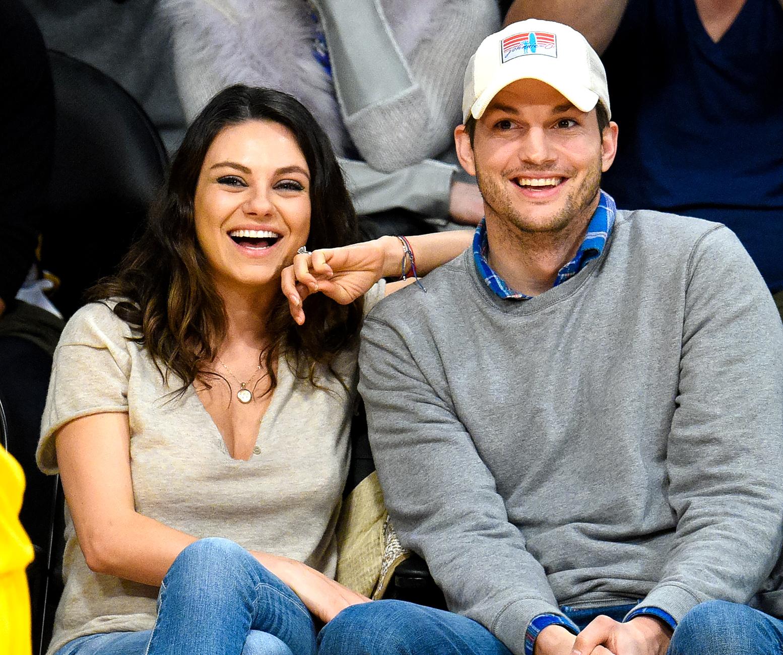 Mila Kunis and Ashton Kutcher get married at Parrish Ranch in Oak Glen, California