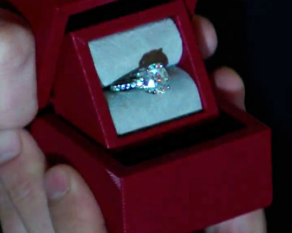 Fifty Shades Christian Grey Used A 215 Ring Box To Propose