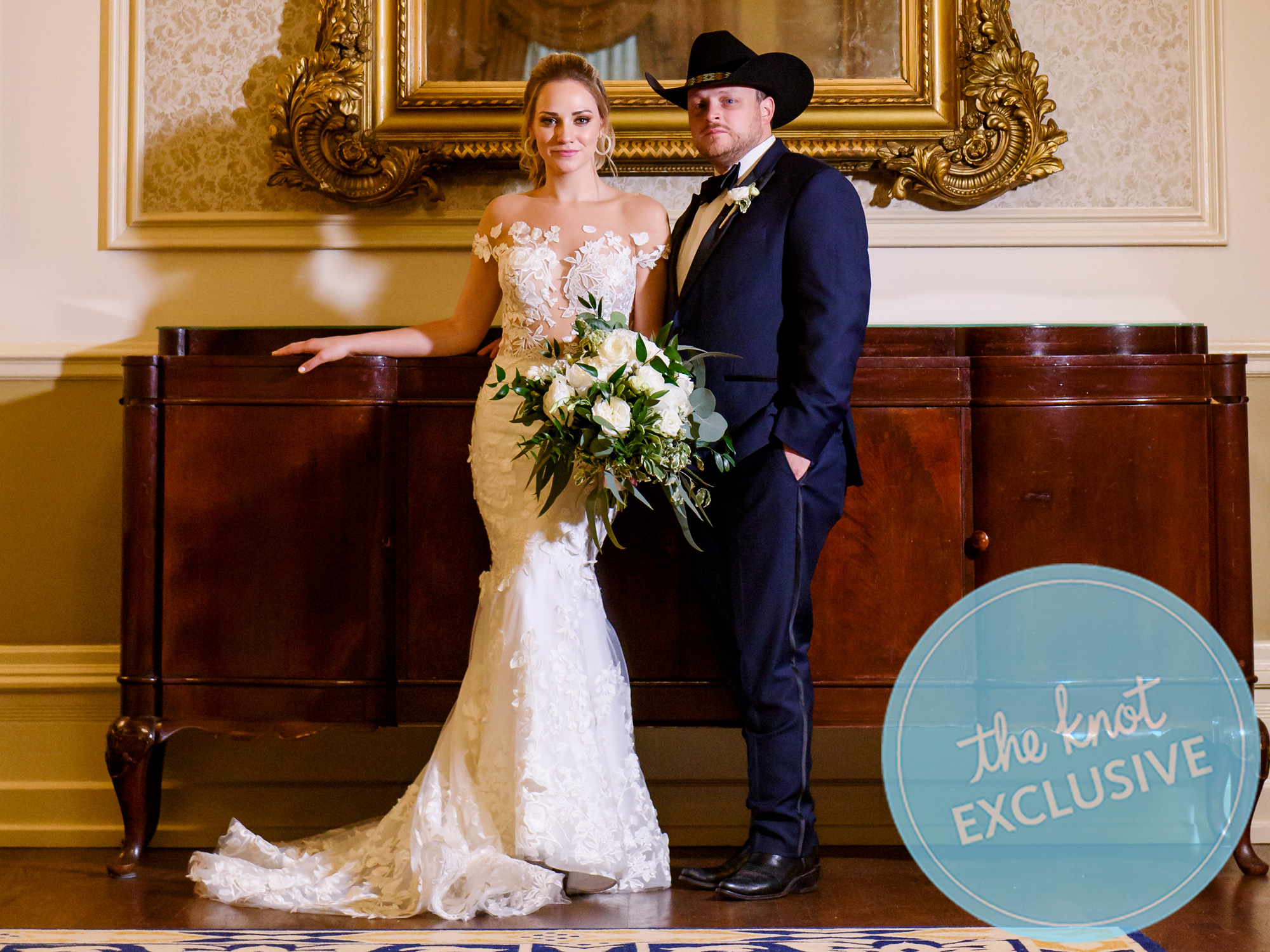 Exclusive Country Singer Josh Abbott Marries Taylor Parnell In Austin