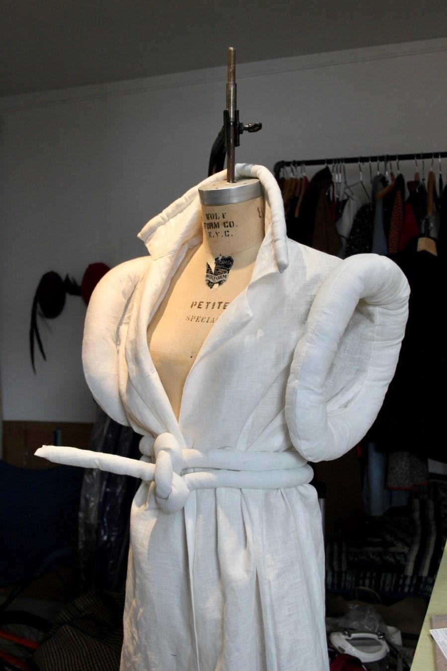 'Untitled Dress' Linen