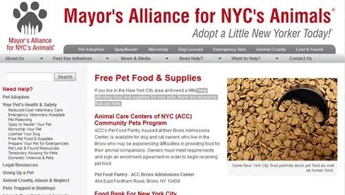 Mayor Alliance for NYC Animals