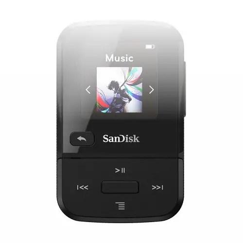 SanDisk Clip Sport Go 32GB MP3 Player Black