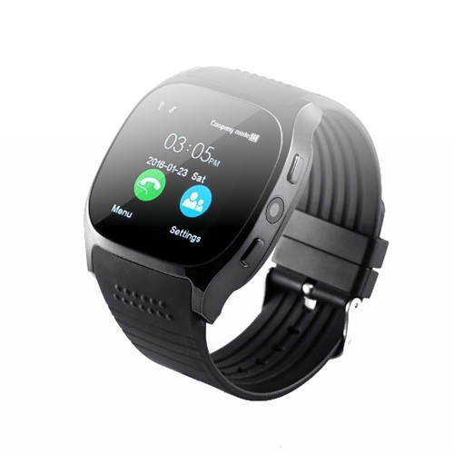 Harpi 2020 New T8 BT3.0 Smart Watch, Support SIM and TFcard Camera Fit Android iOS