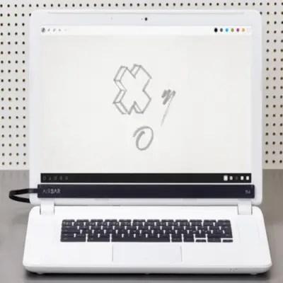 AirBar - touch control notebook (airbar neonode)