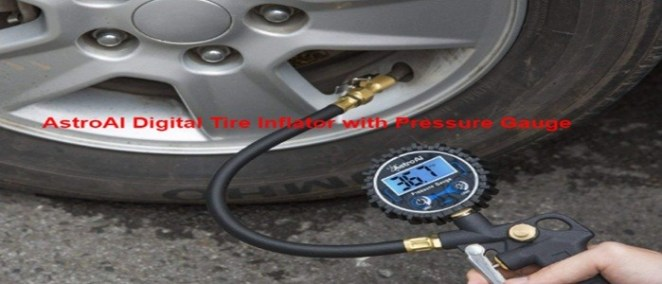 AstroAI Digital Tire Inflator with Pressure Gauge