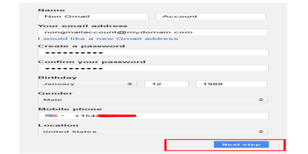 Fill_Google_Account_Form