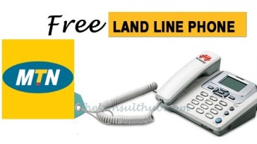 Free MTN LandLine Phone
