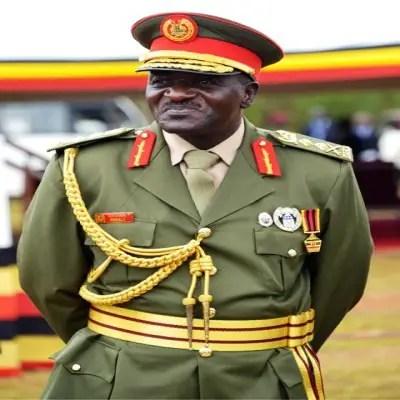 Gen. Katuma Wamala UPDF Commander