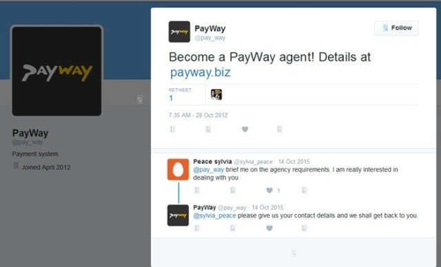 Payway agent website