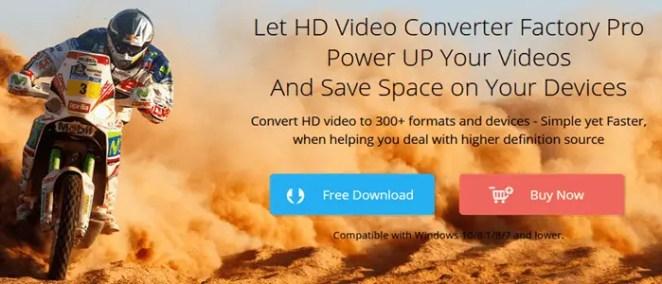 Free WonderFox HD Video converter