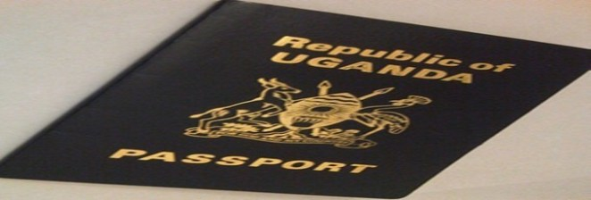 Diplomatic Uganda Passport