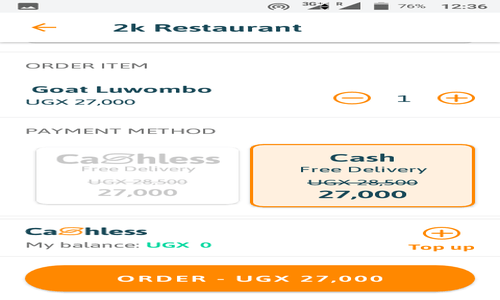 View_and_complete_food_order