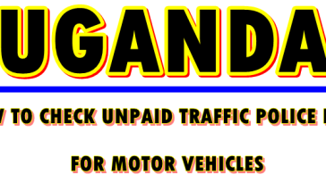 check Uganda police traffic fines