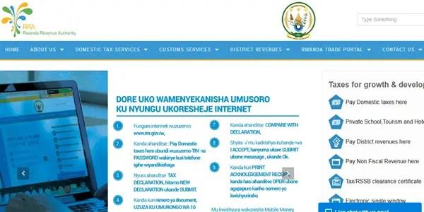 check tin number in rwanda online