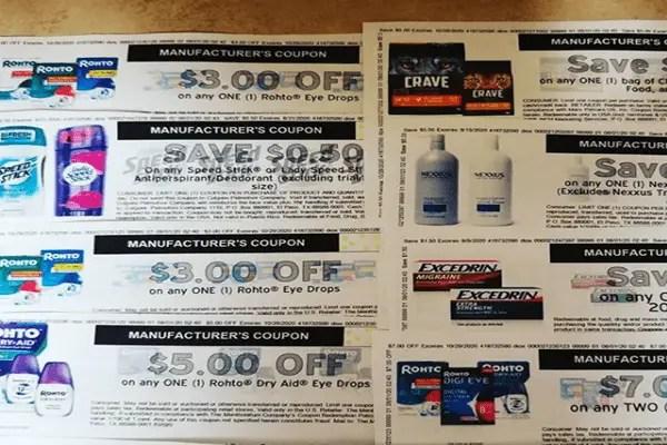 Manufactures coupon