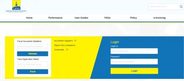 Register with efris