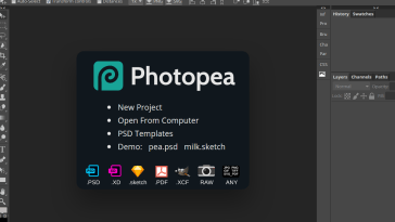 Photopea review, photoshop alternative