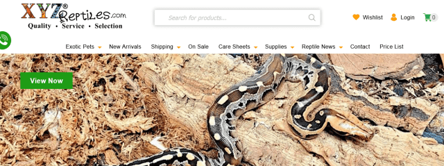 XYZReptiles for Sale Online