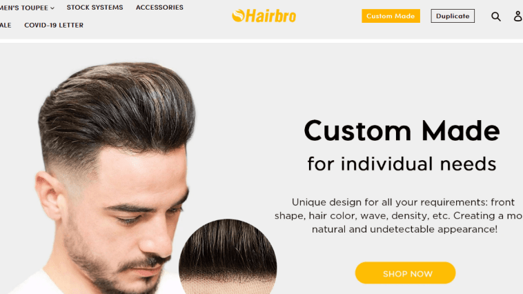 best hair replacement system fitting & styling