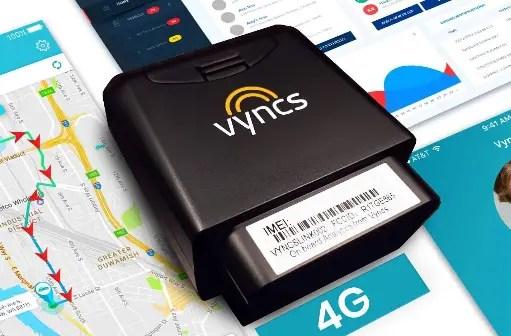 vyncs gps tracker fleet