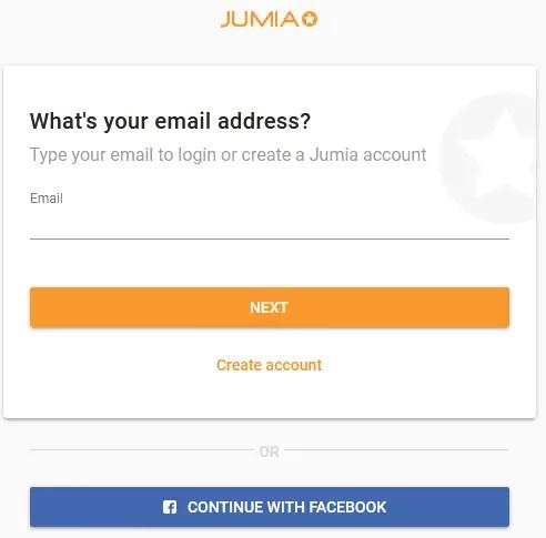 Jumia force account registration