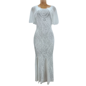 Agelex DLargge Maxi Shinning Body-Con Dress