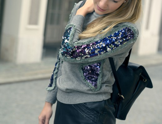 Newchic Sequined Sweater Newchic