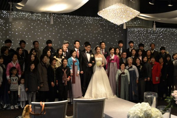 Mariage coréen moderne