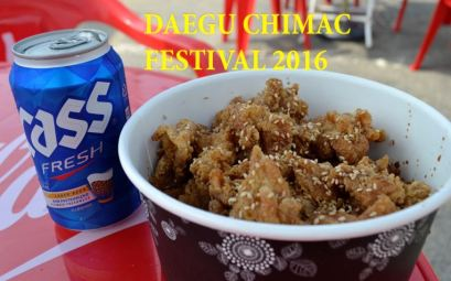 Daegu Chimac festival 2016 - The korean dream