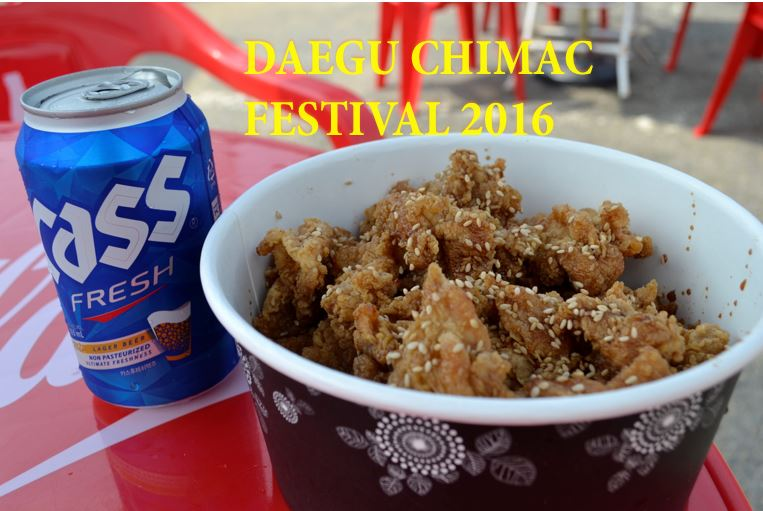 Daegu Chimac festival 2016 - The korean dream
