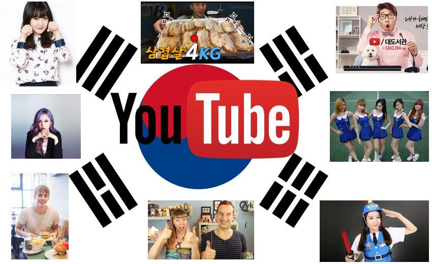 Les plus grands Youtubeurs Coréens (ou chaînes Youtube sur la Corée)