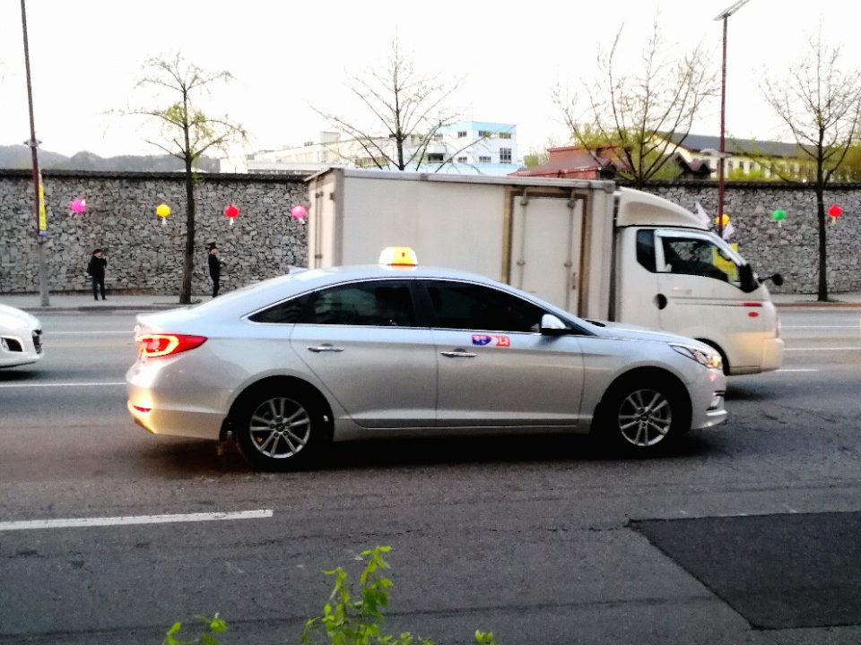 taxi en coree - blog coree du sud - the Korean dream 1
