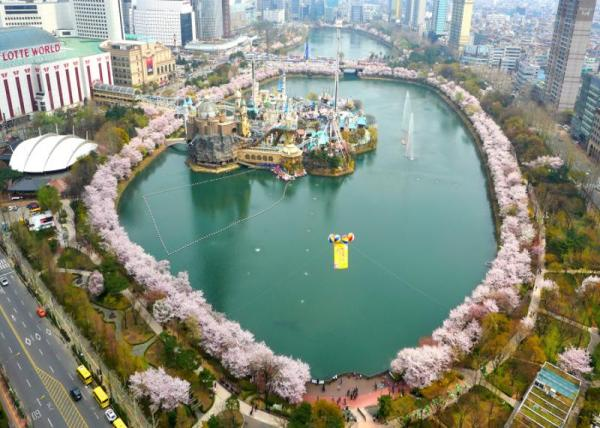 Seokchon lake seoul top Parcs - blog coree du sud - the korean dream