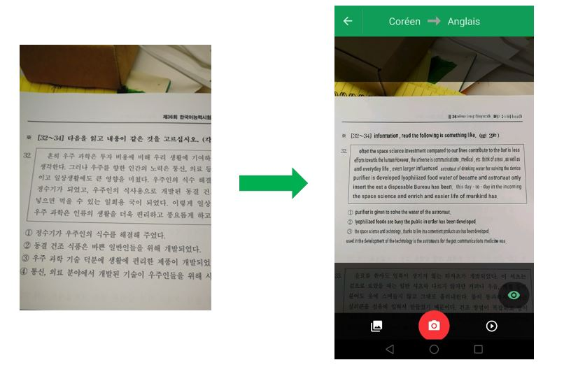 google transtlation demo - blog coree du sud - the korean dream 1