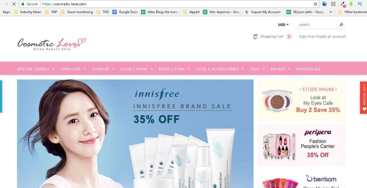 Comment commander des cosmétiques coréens pas chers en ligne ?
