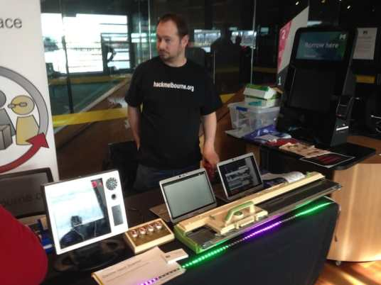 Community Connect HackerSpace projects on show