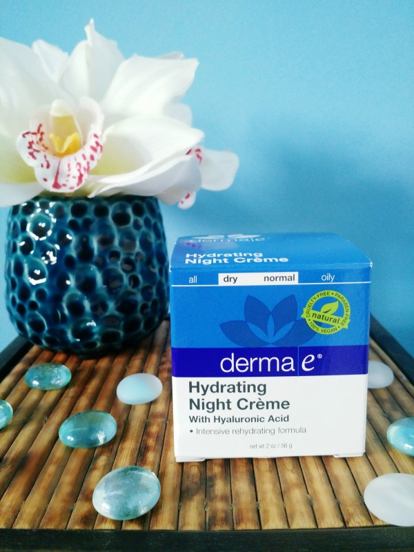 derma e hydrating night creme review