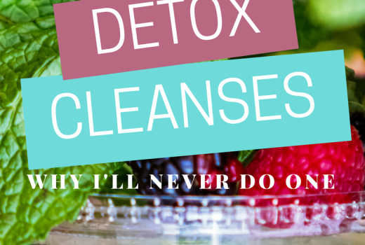 Why I Won't Do a Detox Cleanse // The Krystal Diaries