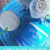 Collagen Peanut Butter Banana Smoothie
