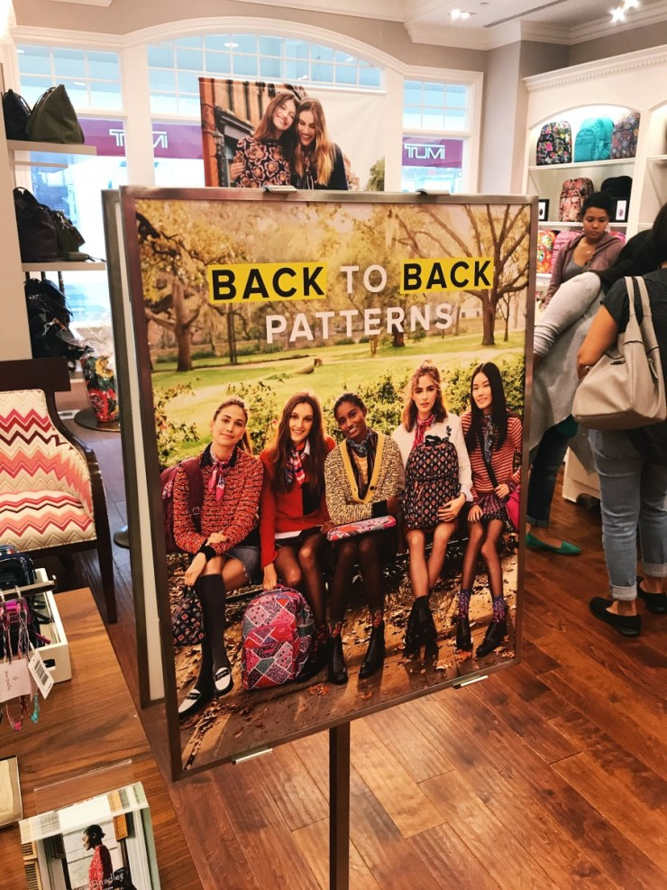 Vera Bradley Meet and Greet Recap // The Krystal Diaries