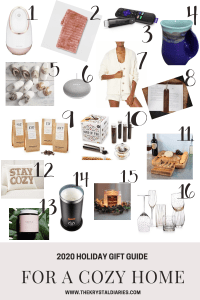 Holiday Gift Guide for a Cozy Home