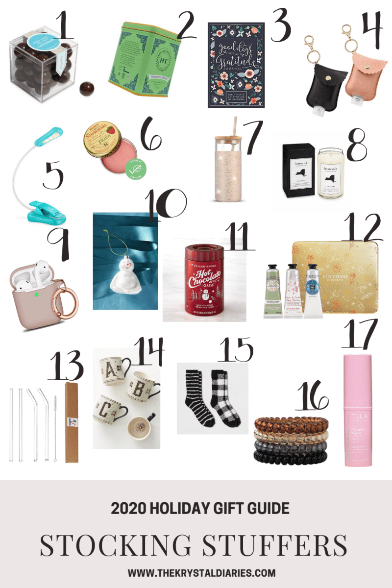 Holiday Stocking Stuffer Gift Ideas The Krystal Diaries
