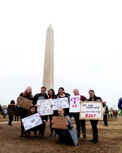 K students attend March on Washington in D.C. [Sara Nelson / The Index].